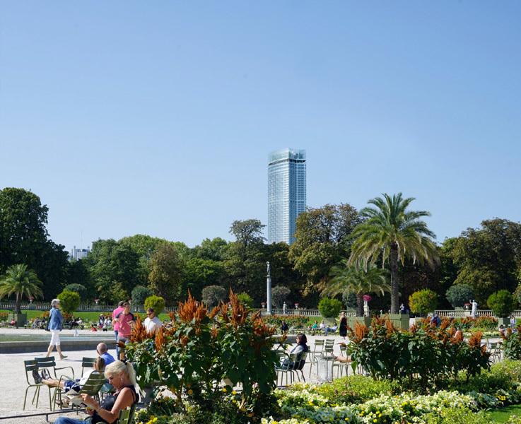 Projet Montparnasse Bureaux, Hôtel, Commerces, Serre panoramique ©NOUVELLE AOM / IDA +